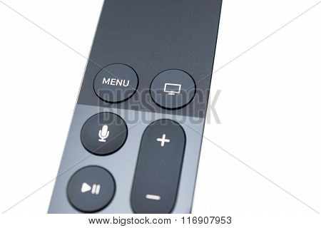 New Apple Tv Media Streaming Player Microconsole Siri Remote