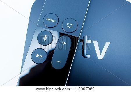Siri Remote Over New Apple Tv Console