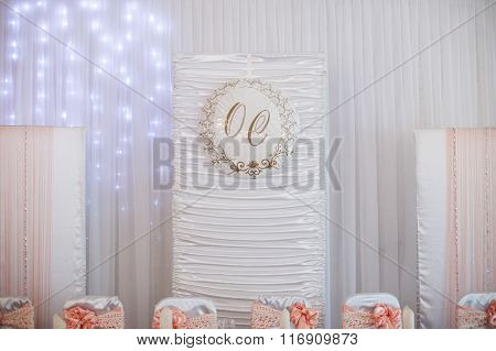 Stylish Luxury Decorative Centerpiece For The Celebration For A Wedding Of Happy Couple, Cathering I
