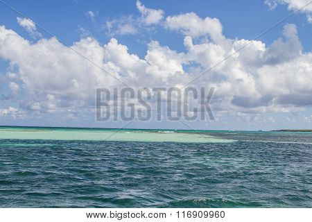 Tropical Sea Details, Blue Water Summer