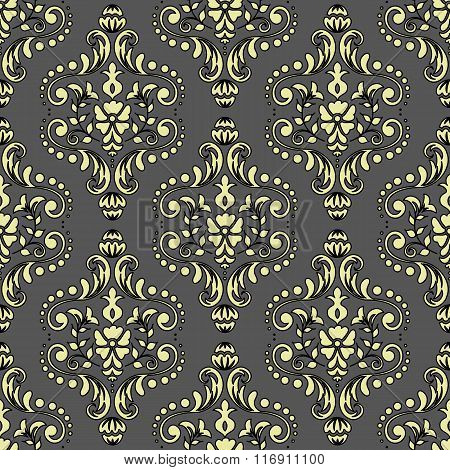 Damascus seamless pattern