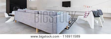 Lounge With Comfortable Sofa