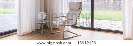 Relaxing Area In Modern Villa