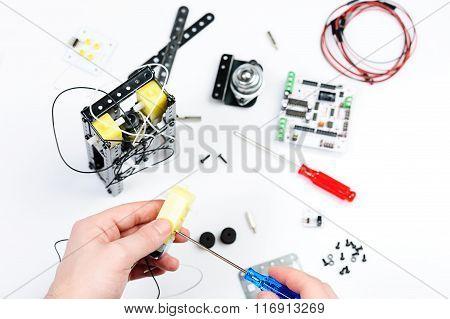 Assemble Robot Toy