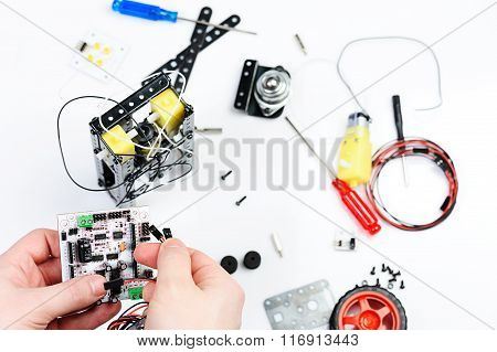 Connection Wire For Robot