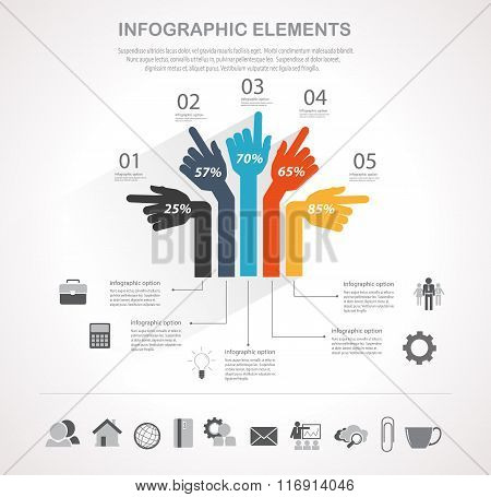 Business Infographics Element