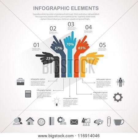 Business Infographics Element