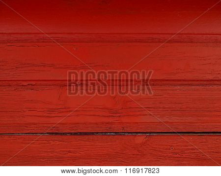 red wood planks