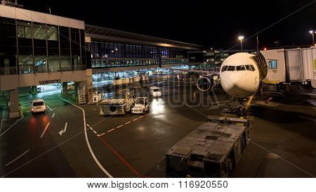 Airplane At Tokyo International Airport