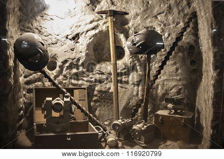 Mine Tools Display (1)