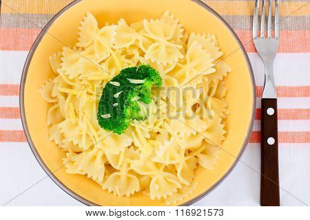 Pasta and Broccoli Diet Food