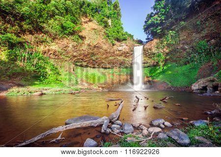 Tad E Tu Waterfall, Bolaven plateau, Pakse, Laos