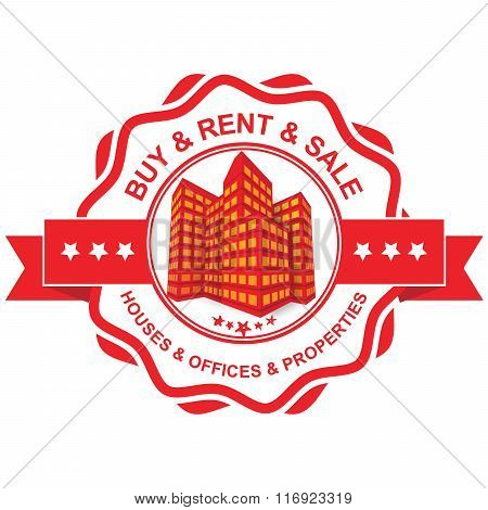 Real Estate label
