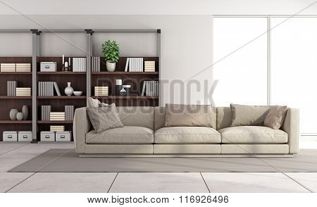 Contemporary Bright Living Room