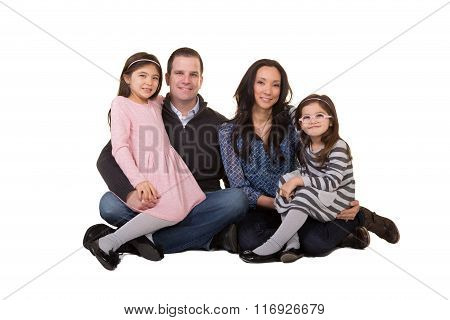 Portrait of a beautiful family