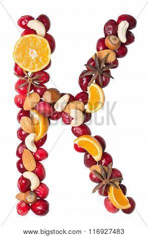 Fruit Letter K