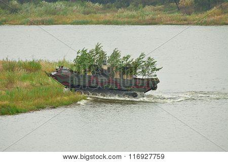 Amphibious Transport Vehicle Pts-2