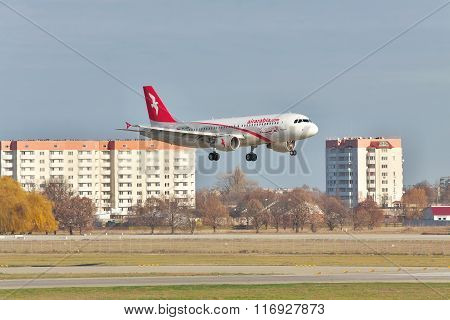 Air Arabia Airbus A320 On Final Landing