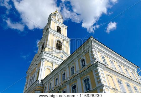 Bell Tower Of Holy Trinity Seraphim-diveevo Monastery, Russia