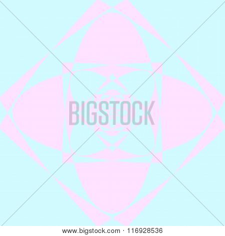 abstract lotus flower pattern.