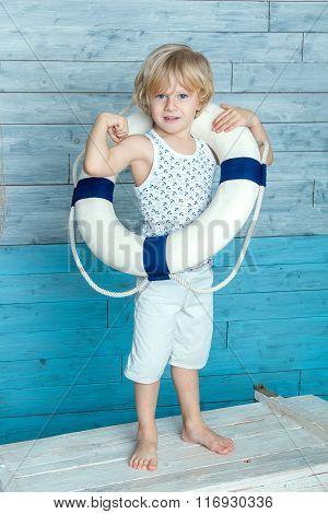 child dressed lifeline