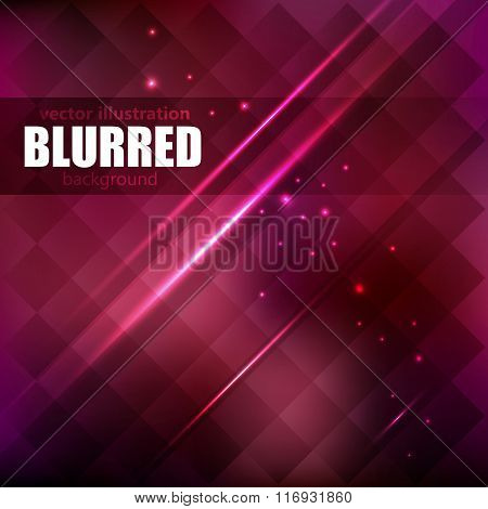 Red  Gradient Mesh, Vector Illustration