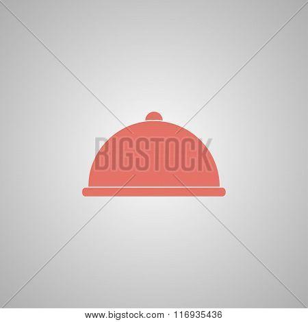Dish served illustration