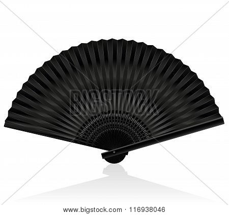 Handheld Fan Black