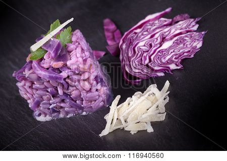 Purple Risotto