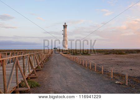 Old Lighthouse near the Sea