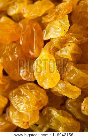 Organic Dried Golden Raisins