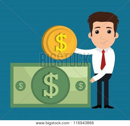 Bank and money investment
