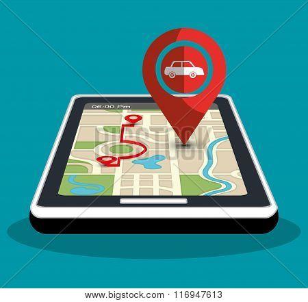 GPS navigation technology