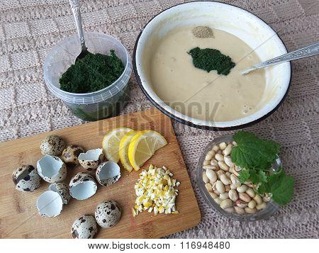 Nettles Lemon Peanut Muffins