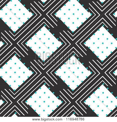 Colorful chevron seamless pattern background.