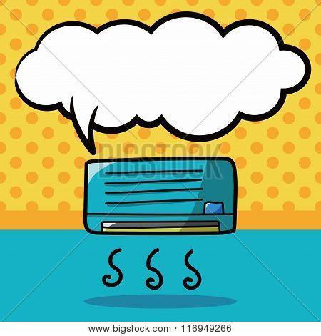 Air Conditioner Color Doodle