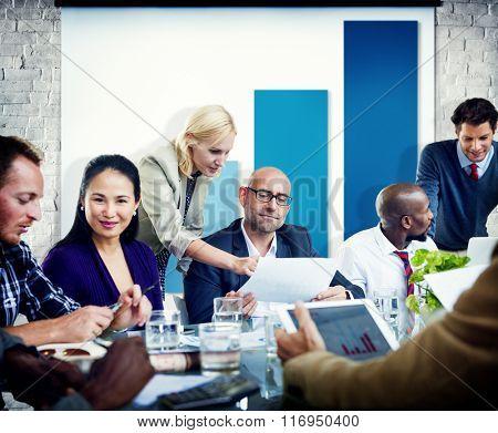 Data Bar Graph Development Research Meeting Concept