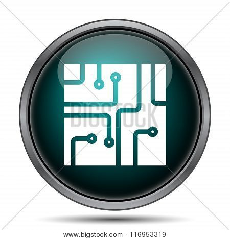Circuit Board Icon