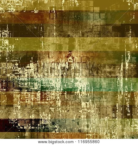 Old antique texture - perfect background with space for your text or image. With different color patterns: yellow (beige); brown; white; green; gray
