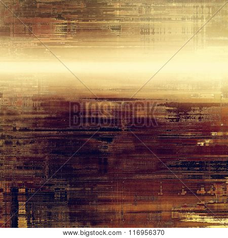 Old antique texture or background. With different color patterns: yellow (beige); brown; purple (violet); gray