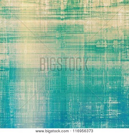Background in grunge style. With different color patterns: yellow (beige); blue; green; cyan