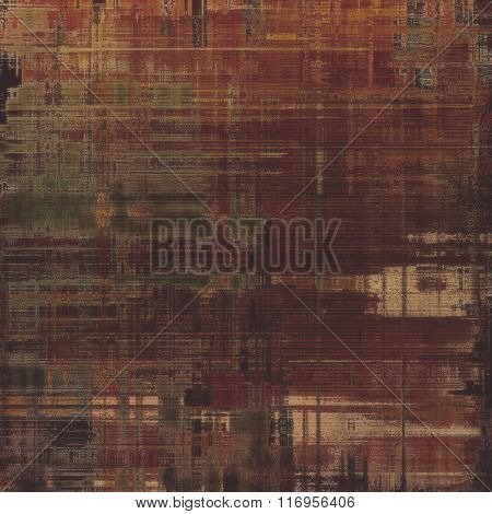 Old background with delicate abstract texture. With different color patterns: yellow (beige); brown; black; gray