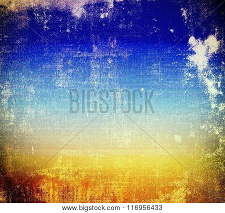 Old antique texture - perfect background with space for your text or image. With different color patterns: yellow (beige); brown; white; blue; cyan