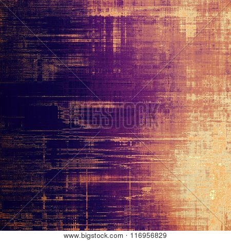 Old Texture. With different color patterns: yellow (beige); brown; red (orange); purple (violet); pink