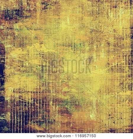Beautiful antique vintage background. With different color patterns: yellow (beige); brown; green; purple (violet)