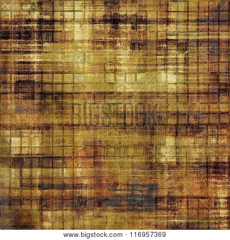 Grunge old-fashioned background with space for text or image. With different color patterns: yellow (beige); brown; black; gray