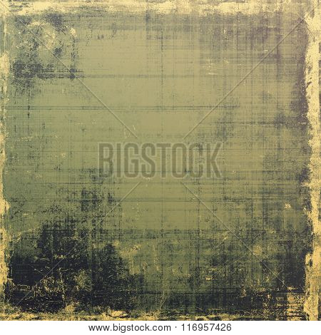 Old antique texture or background. With different color patterns: yellow (beige); brown; black; gray