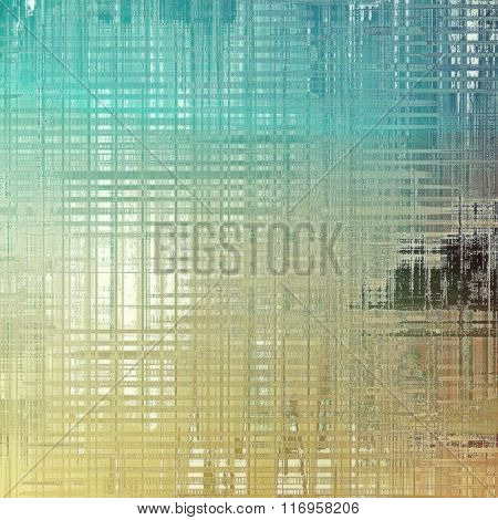 Old texture - ancient background with space for text. With different color patterns: yellow (beige); brown; blue; cyan; gray