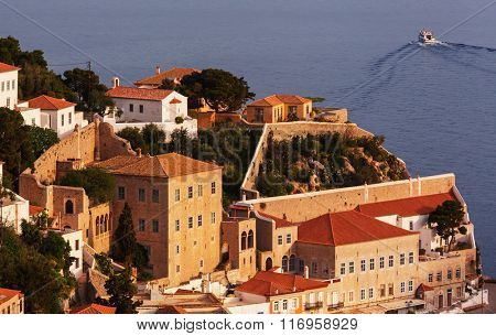 Original Hydra Island in Greece