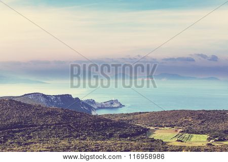 Cape of Doukato, Lefkada island ,Greece